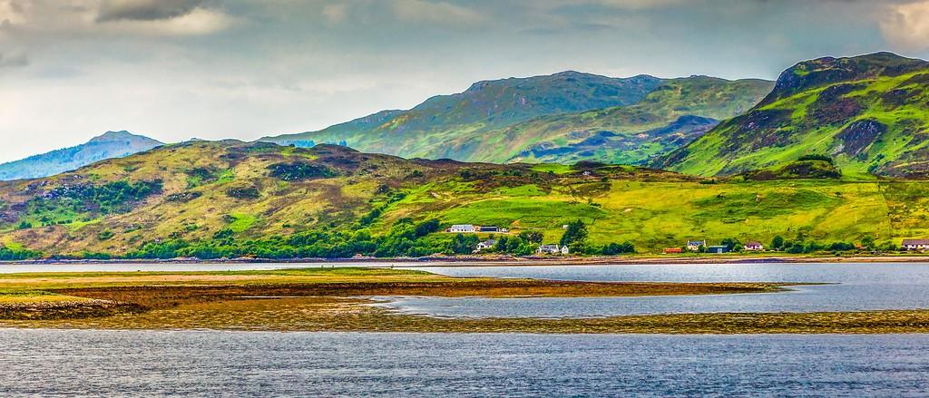 苏格兰艾琳多南城堡(Eilean Donan castle),远眺英姿_图1-12