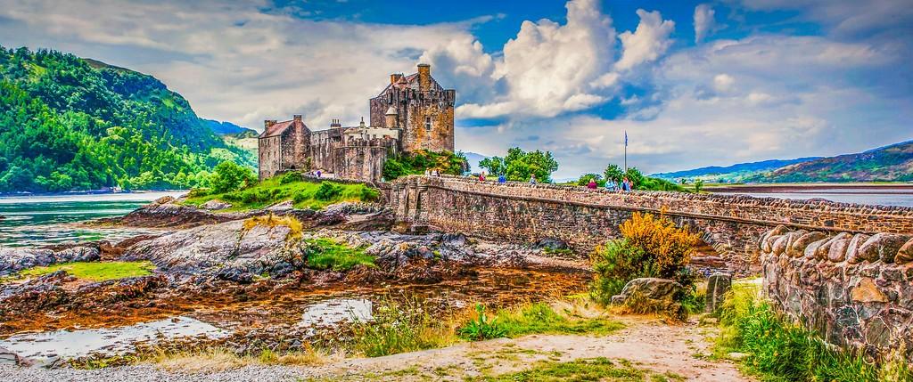 苏格兰艾琳多南城堡(Eilean Donan castle),远眺英姿_图1-11
