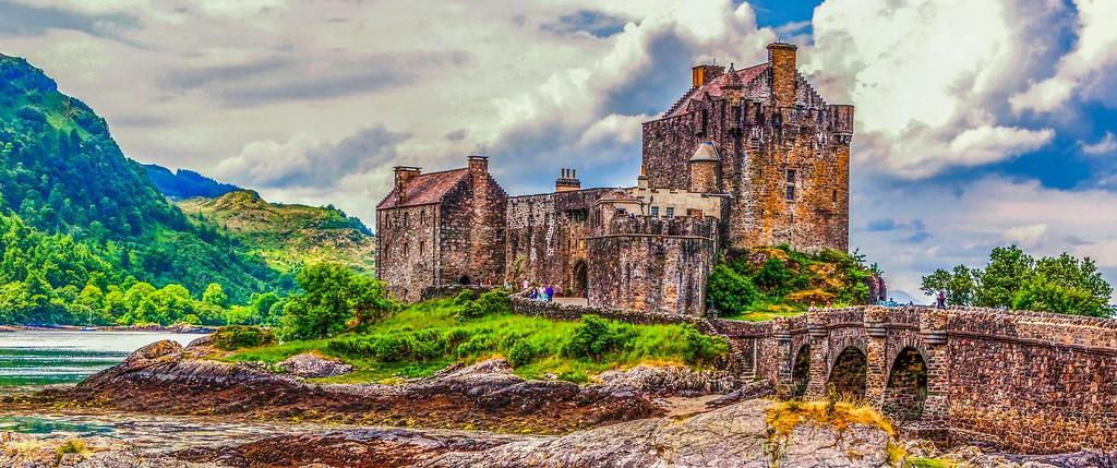 苏格兰艾琳多南城堡(Eilean Donan castle),远眺英姿_图1-8