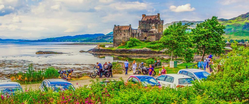 苏格兰艾琳多南城堡(Eilean Donan castle),远眺英姿_图1-6