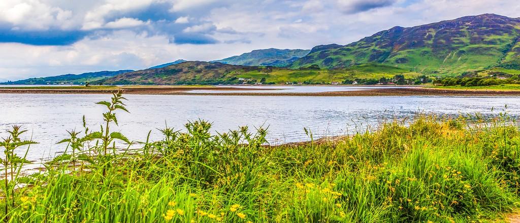 苏格兰艾琳多南城堡(Eilean Donan castle),远眺英姿_图1-13