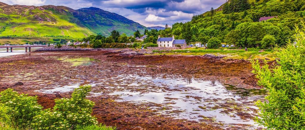 苏格兰艾琳多南城堡(Eilean Donan castle),远眺英姿_图1-14