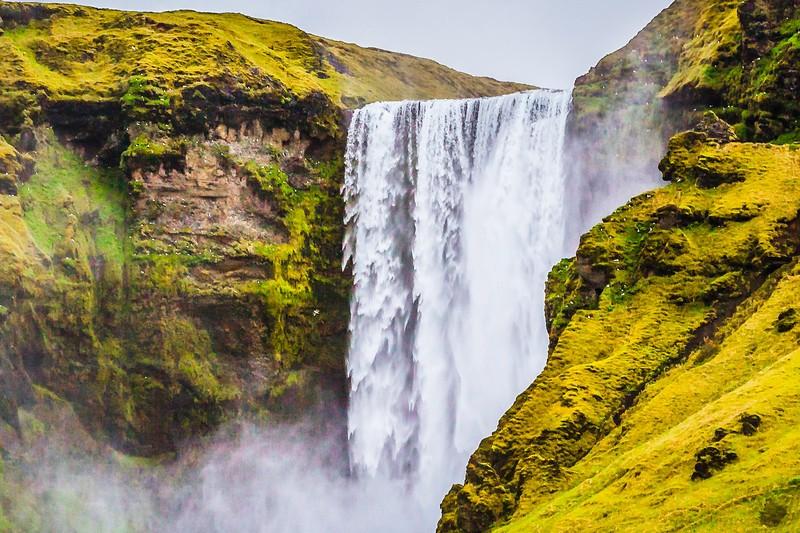 冰岛Skógafoss瀑布,飞流直下_图1-5