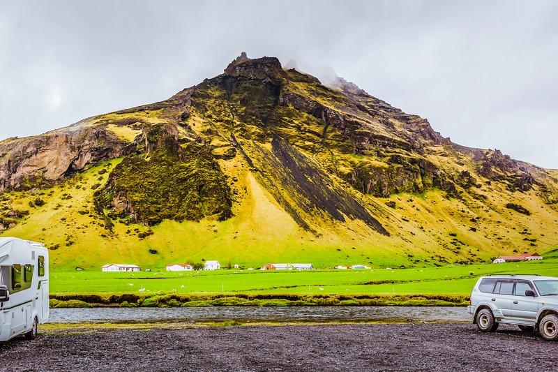 冰岛Skógafoss瀑布,飞流直下_图1-6