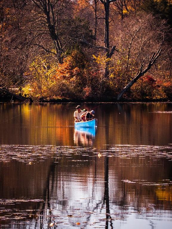 宾州 French Creek State Park,迷人秋季_图1-8