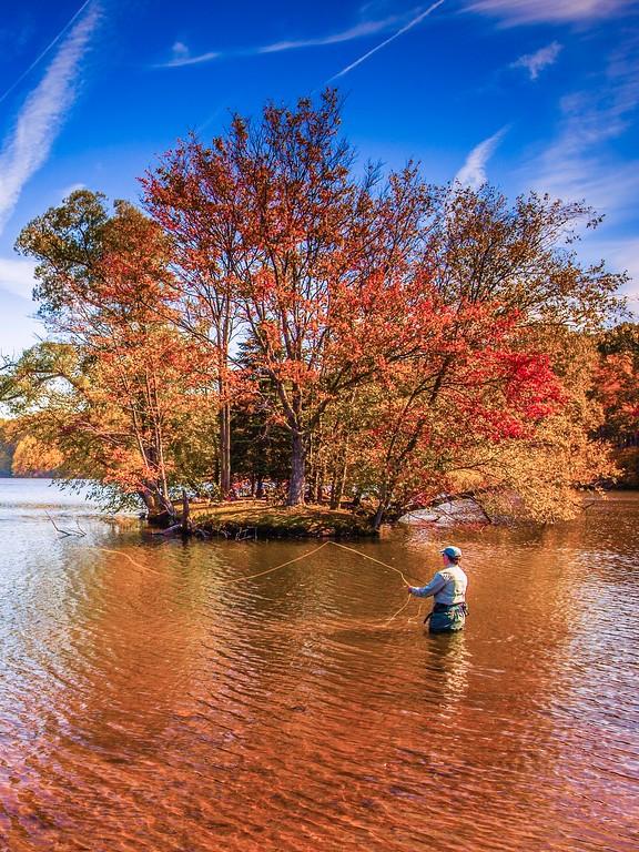 宾州 French Creek State Park,迷人秋季_图1-7