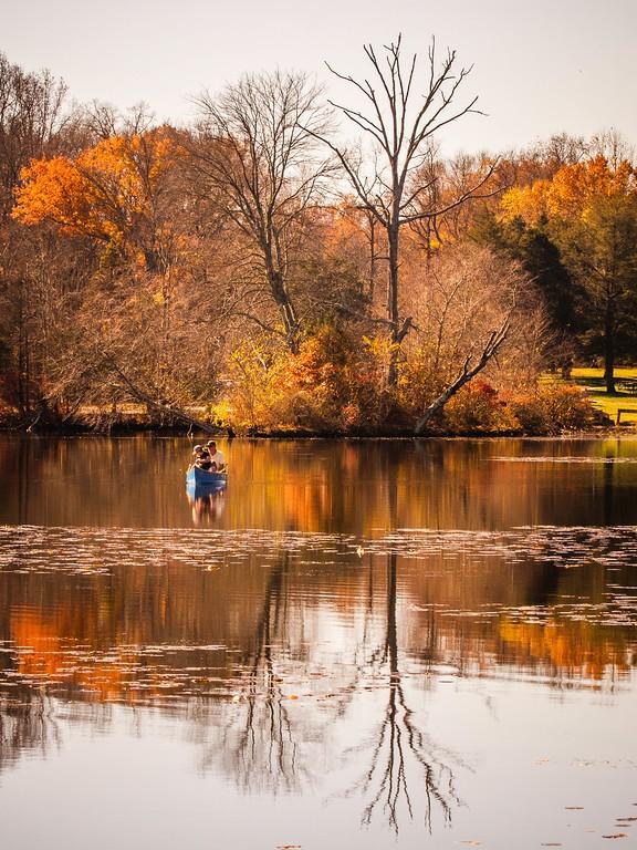 宾州 French Creek State Park,迷人秋季_图1-5