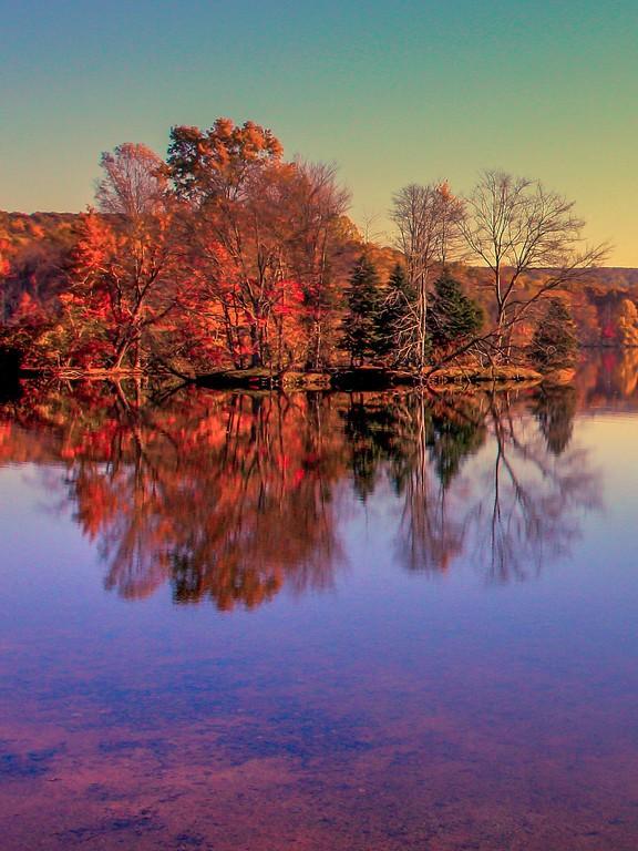 宾州 French Creek State Park,迷人秋季_图1-13