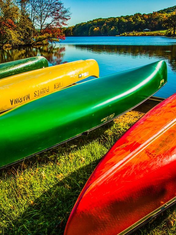 宾州 French Creek State Park,迷人秋季_图1-18