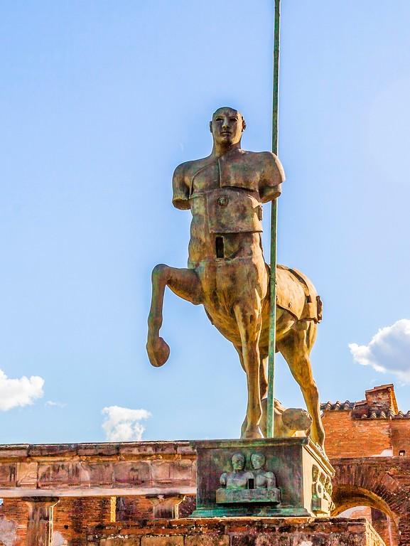 意大利一世纪古城庞贝,时代变迁_图1-1