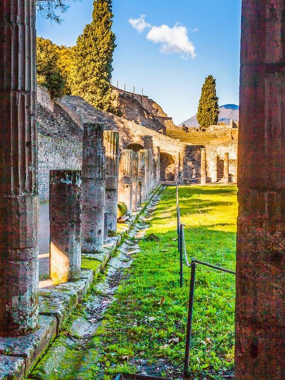 意大利一世纪古城庞贝,时代变迁_图1-6