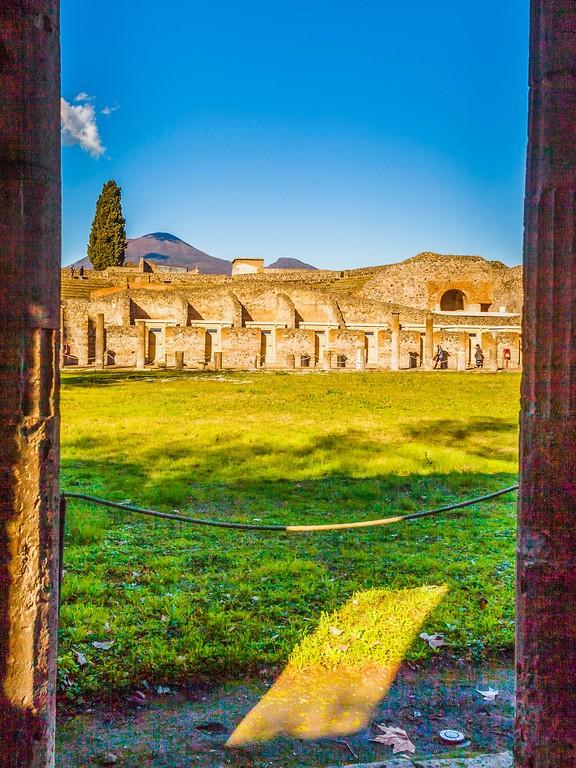 意大利一世纪古城庞贝,时代变迁_图1-12