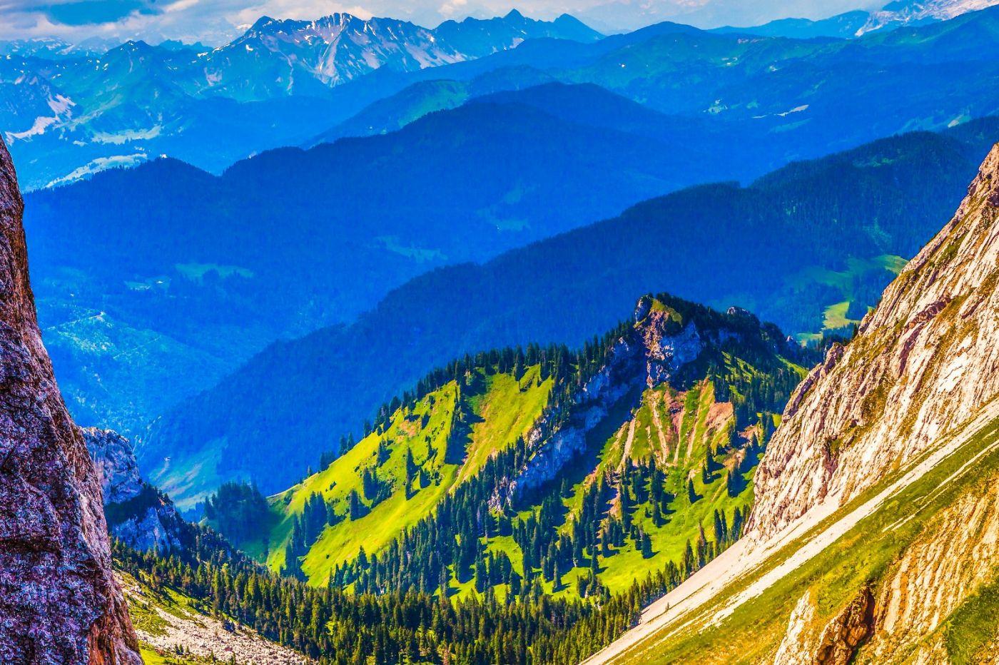 瑞士卢塞恩(Lucerne),登山瞭望_图1-10