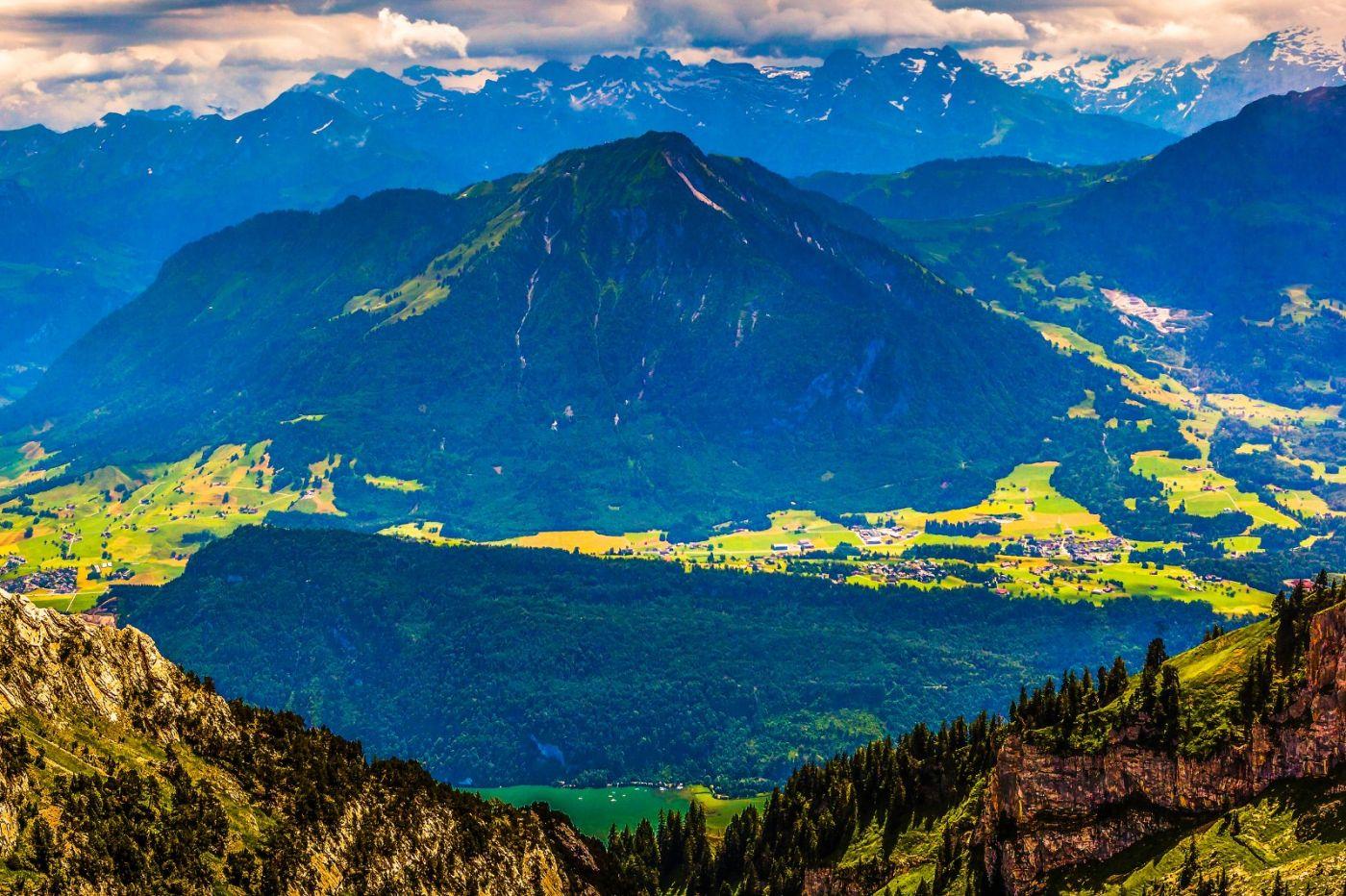 瑞士卢塞恩(Lucerne),登山瞭望_图1-12