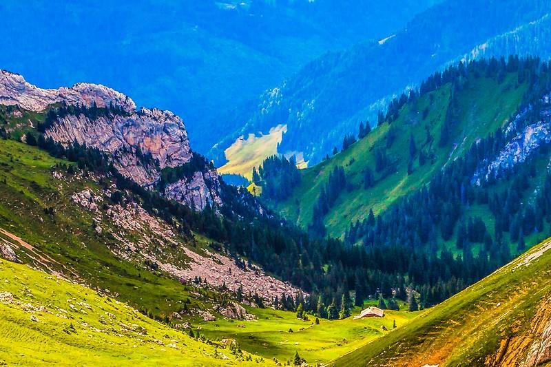 瑞士卢塞恩(Lucerne),登山瞭望_图1-8