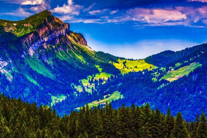 瑞士卢塞恩(Lucerne),登山瞭望_图1-7