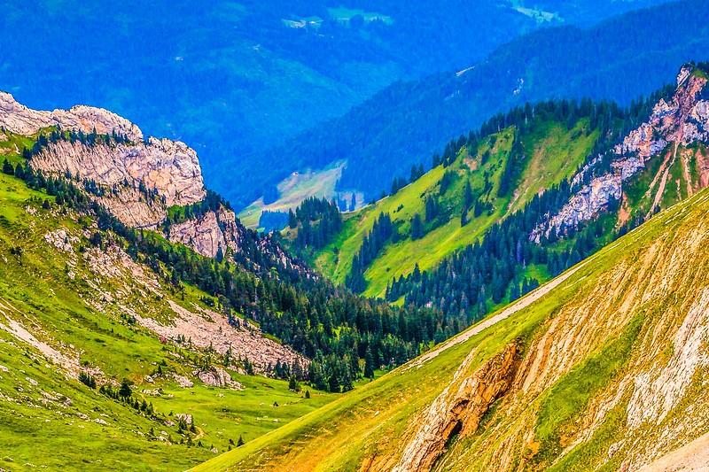 瑞士卢塞恩(Lucerne),登山瞭望_图1-1