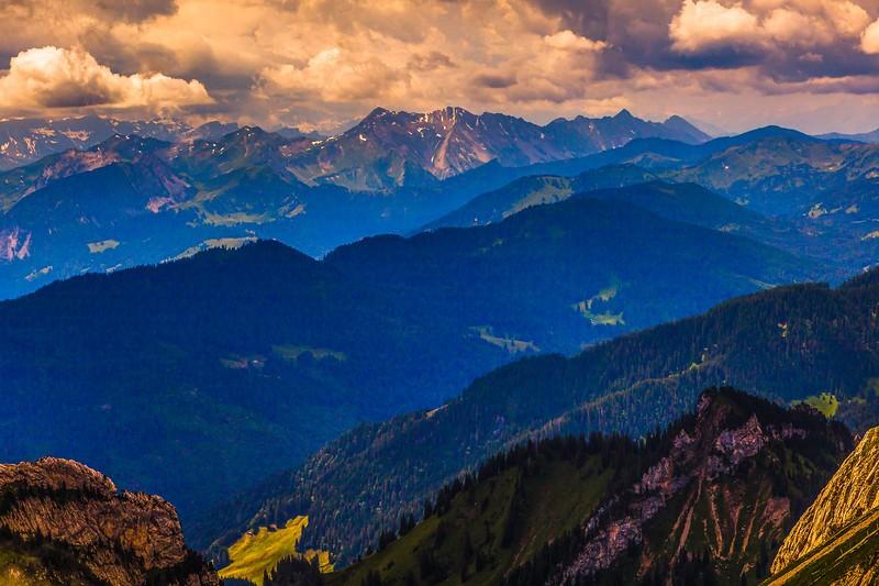 瑞士卢塞恩(Lucerne),登山瞭望_图1-2