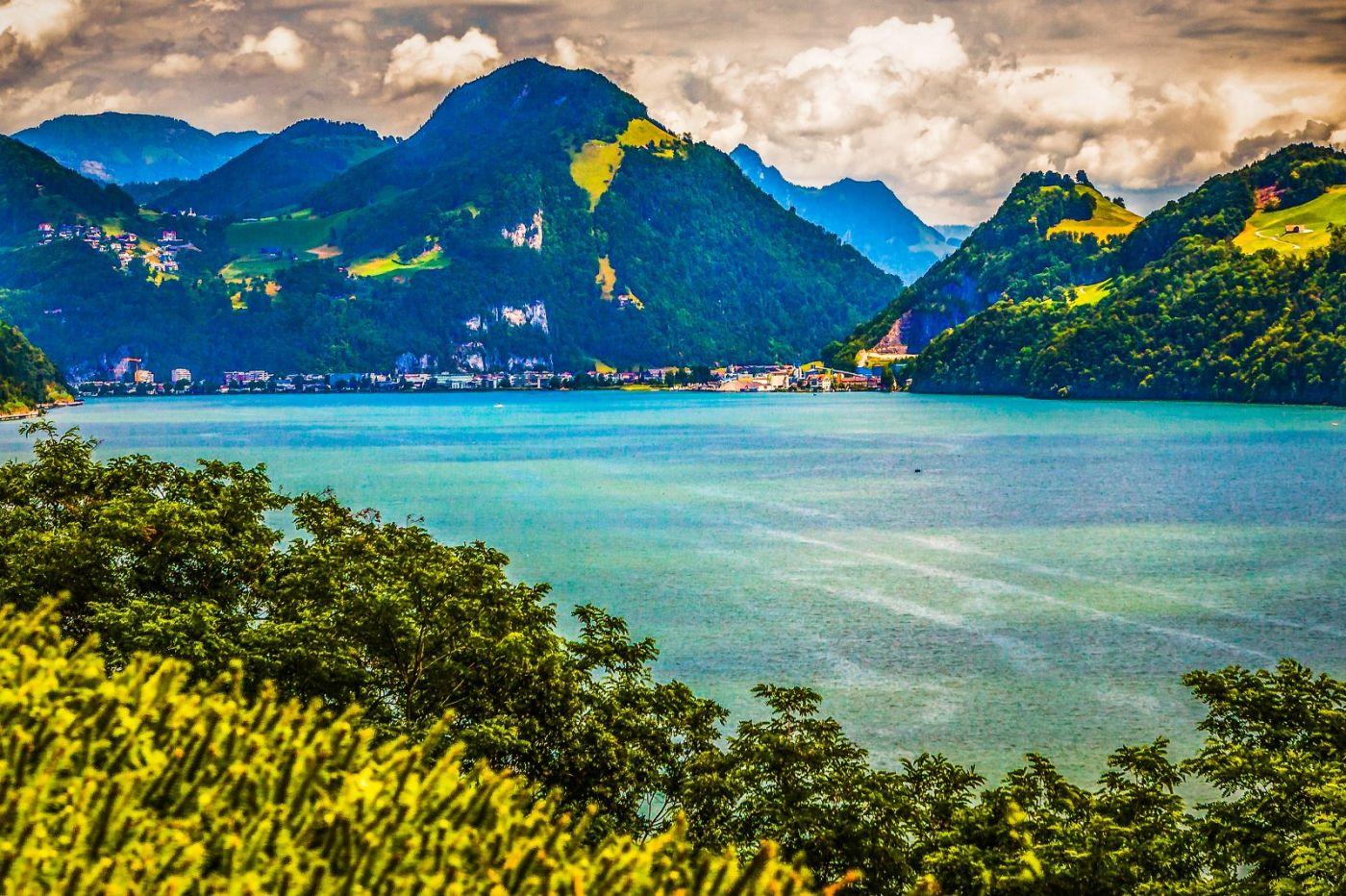 瑞士卢塞恩(Lucerne),登山瞭望_图1-4