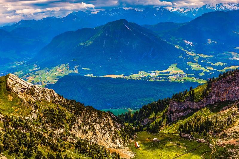 瑞士卢塞恩(Lucerne),登山瞭望_图1-13