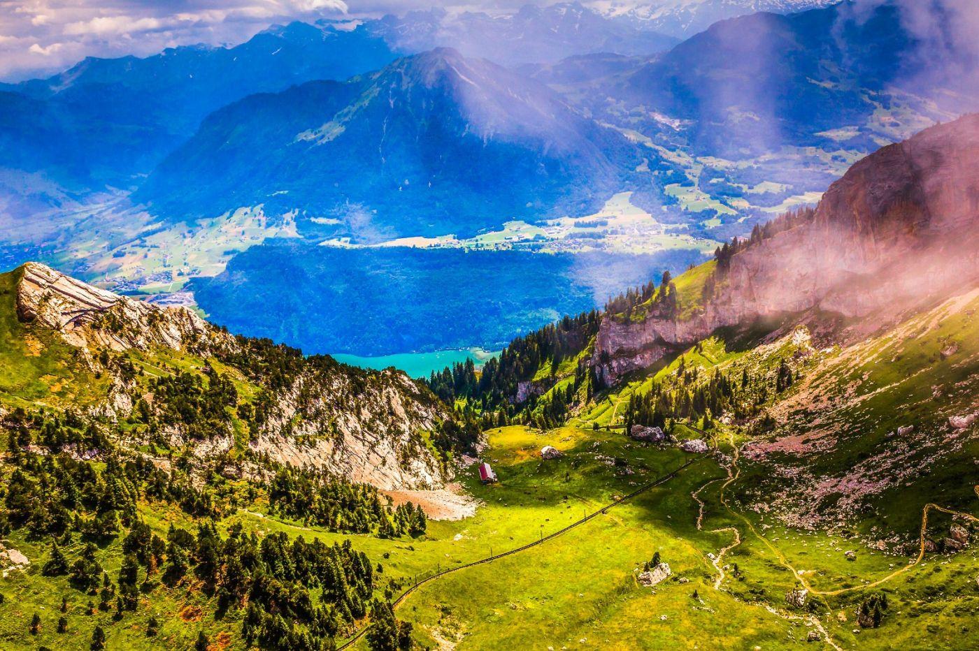 瑞士卢塞恩(Lucerne),登山瞭望_图1-16