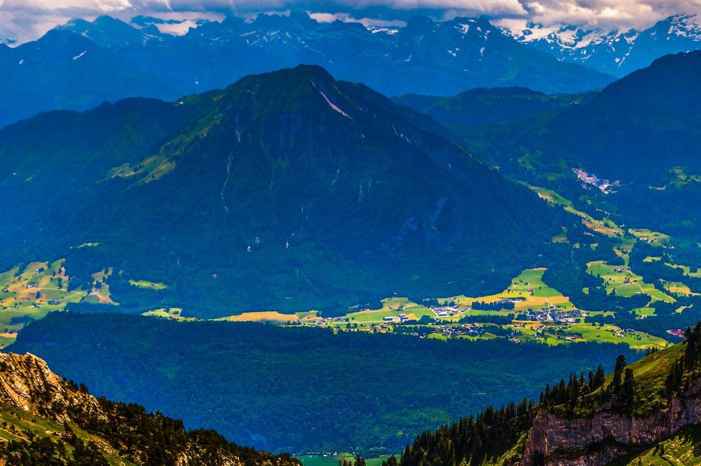 瑞士卢塞恩(Lucerne),登山瞭望_图1-18