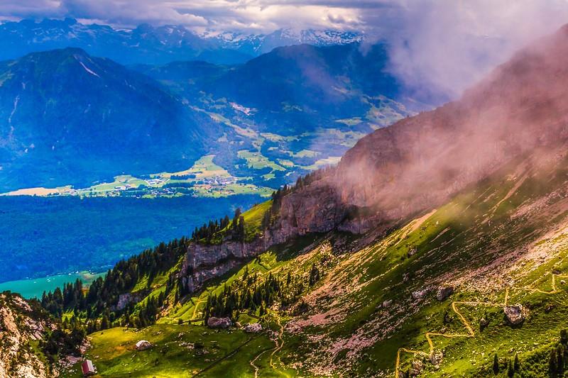 瑞士卢塞恩(Lucerne),登山瞭望_图1-15