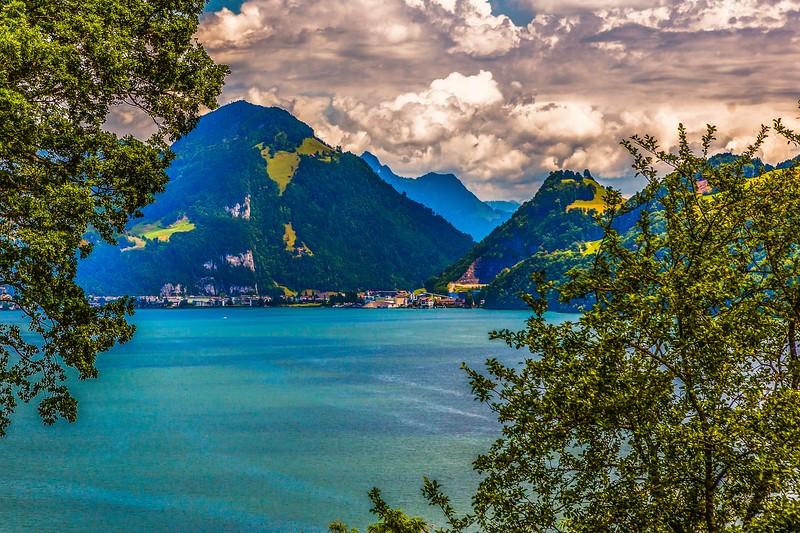 瑞士卢塞恩(Lucerne),登山瞭望_图1-19