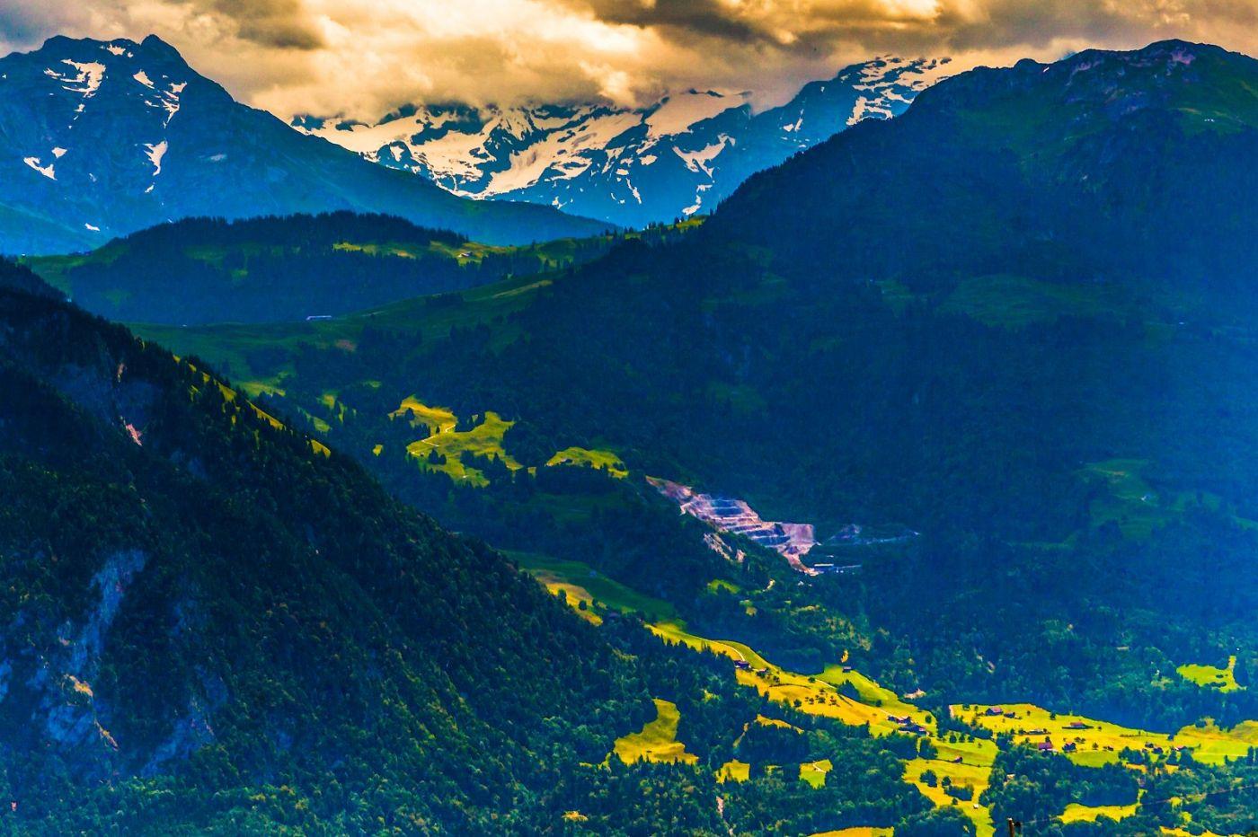 瑞士卢塞恩(Lucerne),登山瞭望_图1-25