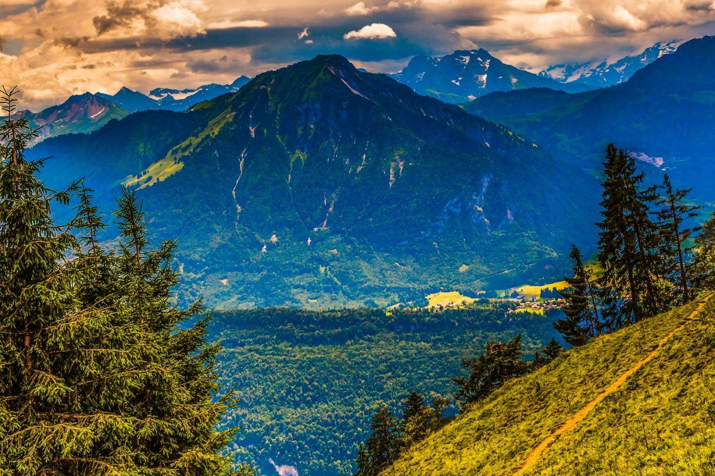 瑞士卢塞恩(Lucerne),登山瞭望_图1-23