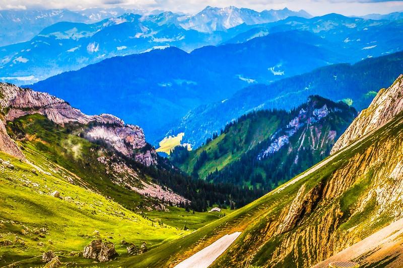 瑞士卢塞恩(Lucerne),登山瞭望_图1-22