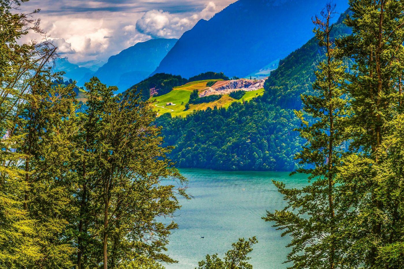 瑞士卢塞恩(Lucerne),登山瞭望_图1-26