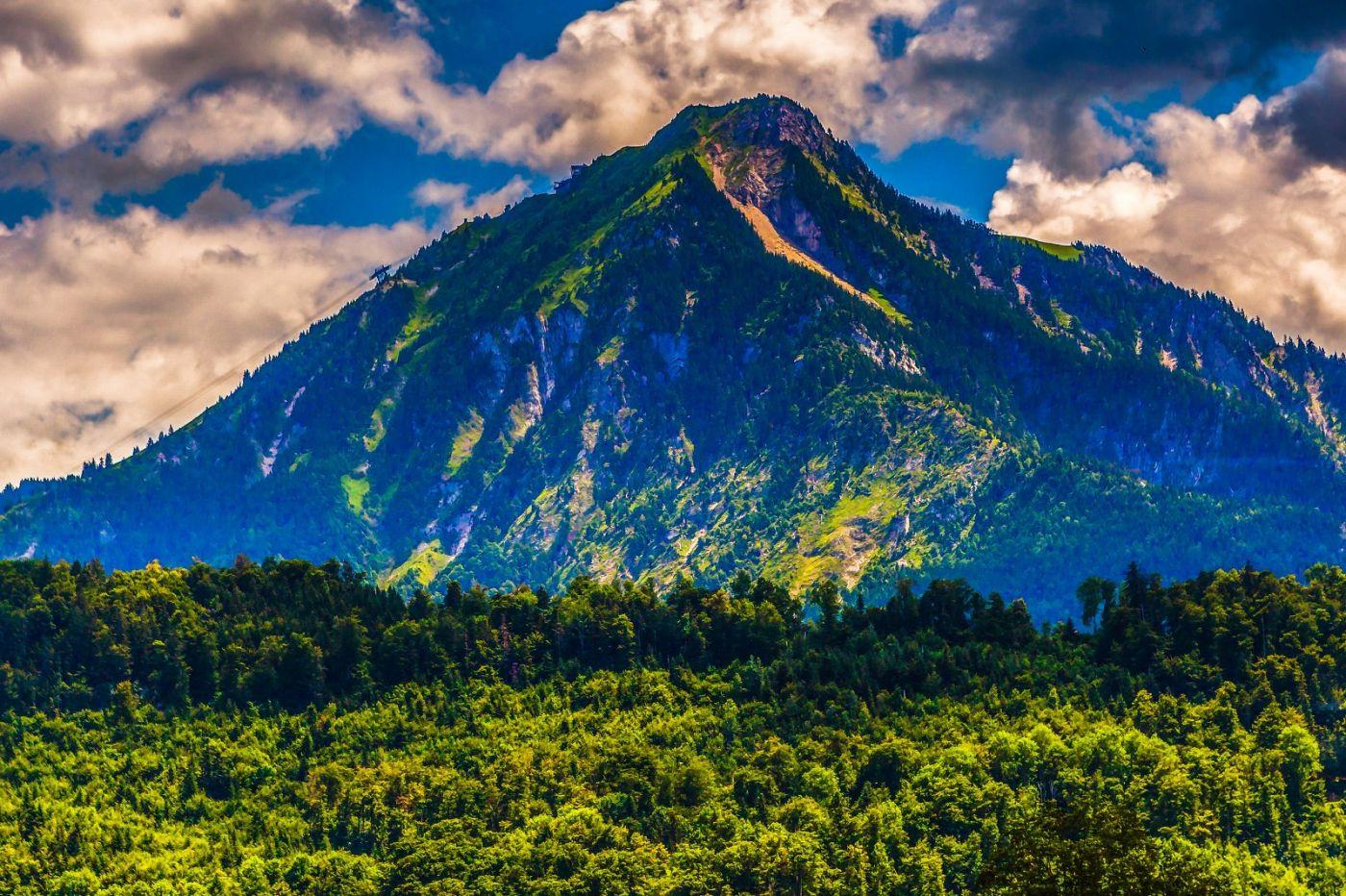 瑞士卢塞恩(Lucerne),登山瞭望_图1-32