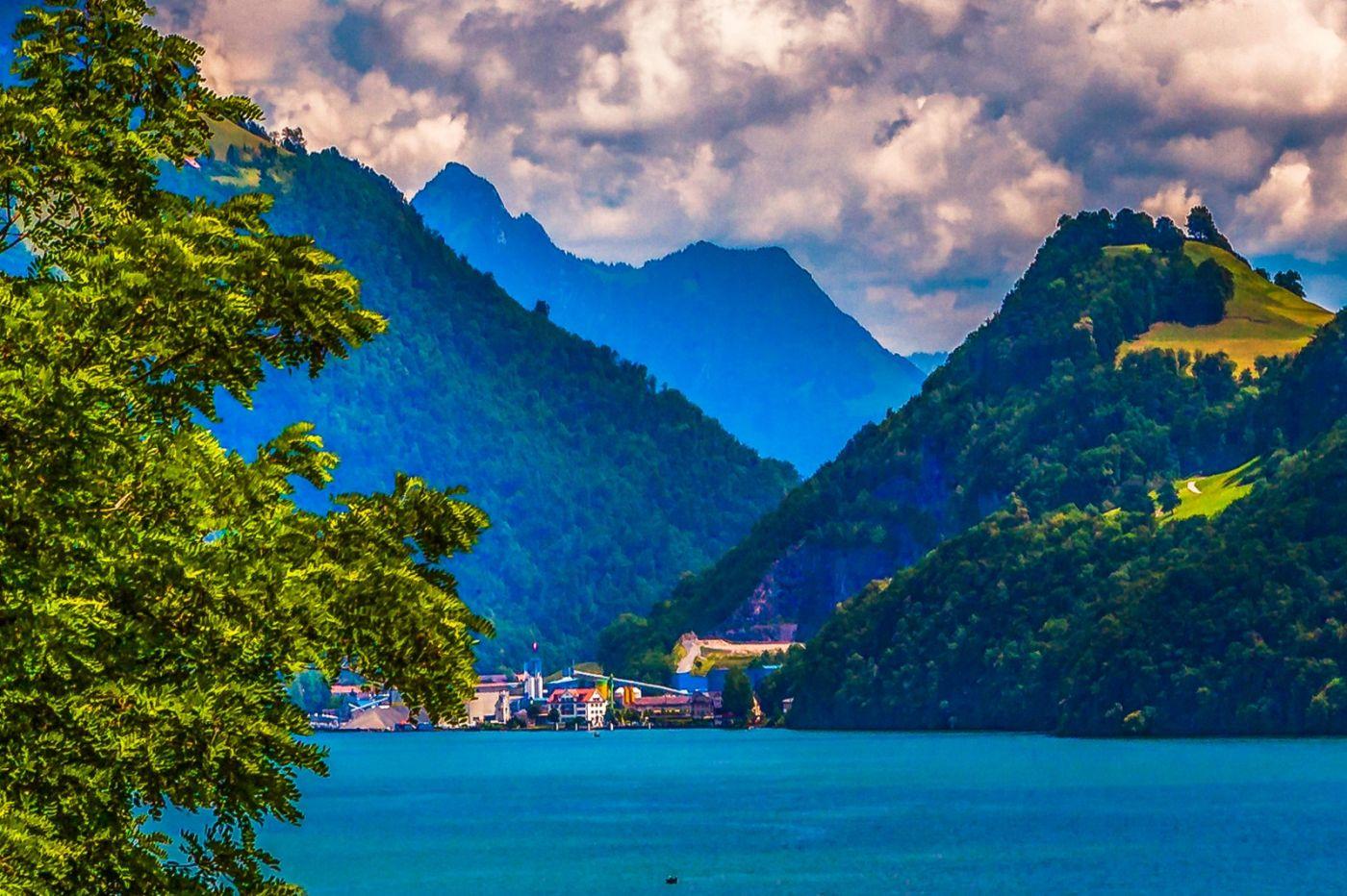 瑞士卢塞恩(Lucerne),登山瞭望_图1-31