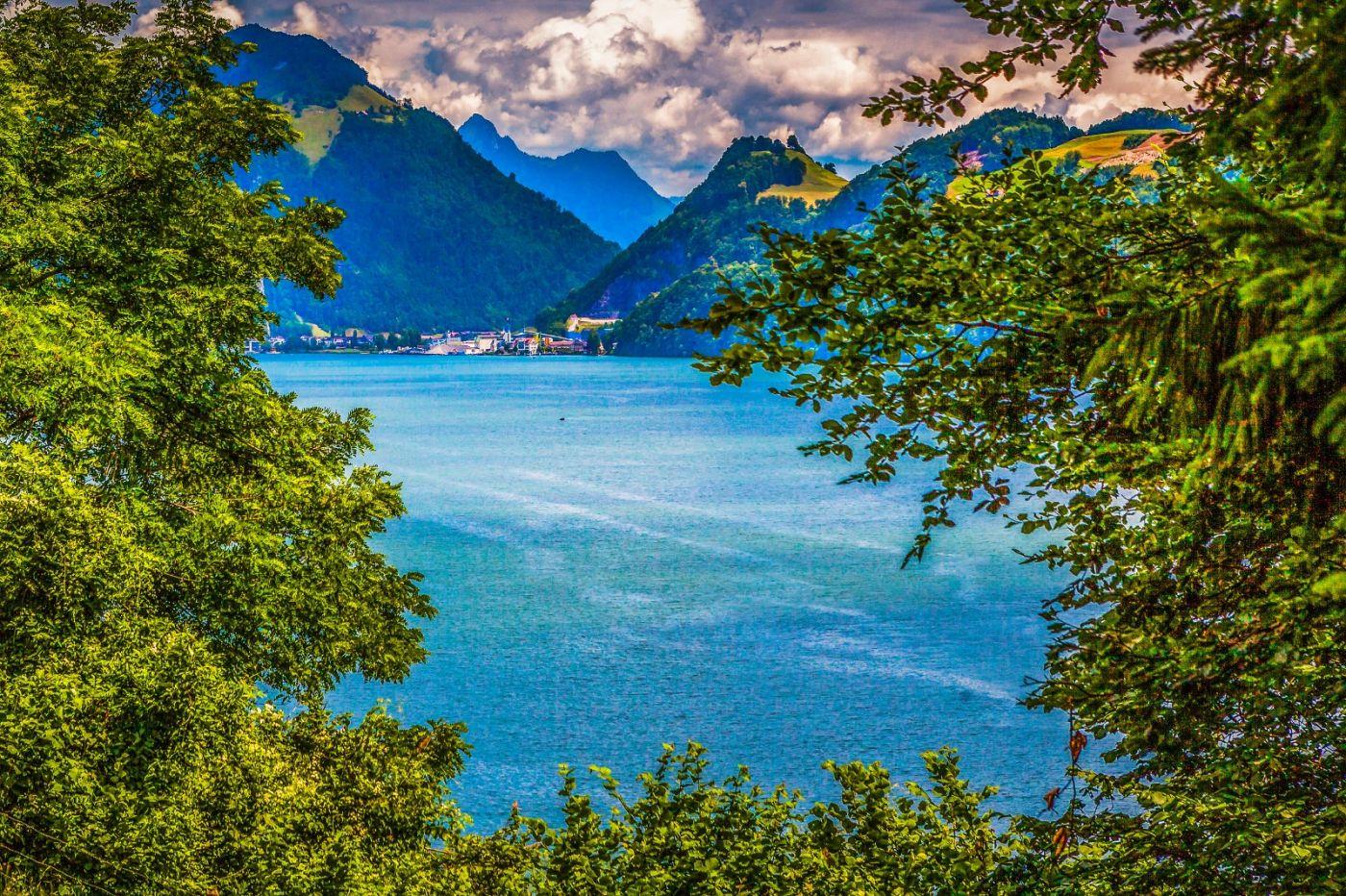 瑞士卢塞恩(Lucerne),登山瞭望_图1-29