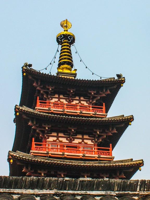 苏州寒山寺,中国十大名寺之一_图1-10