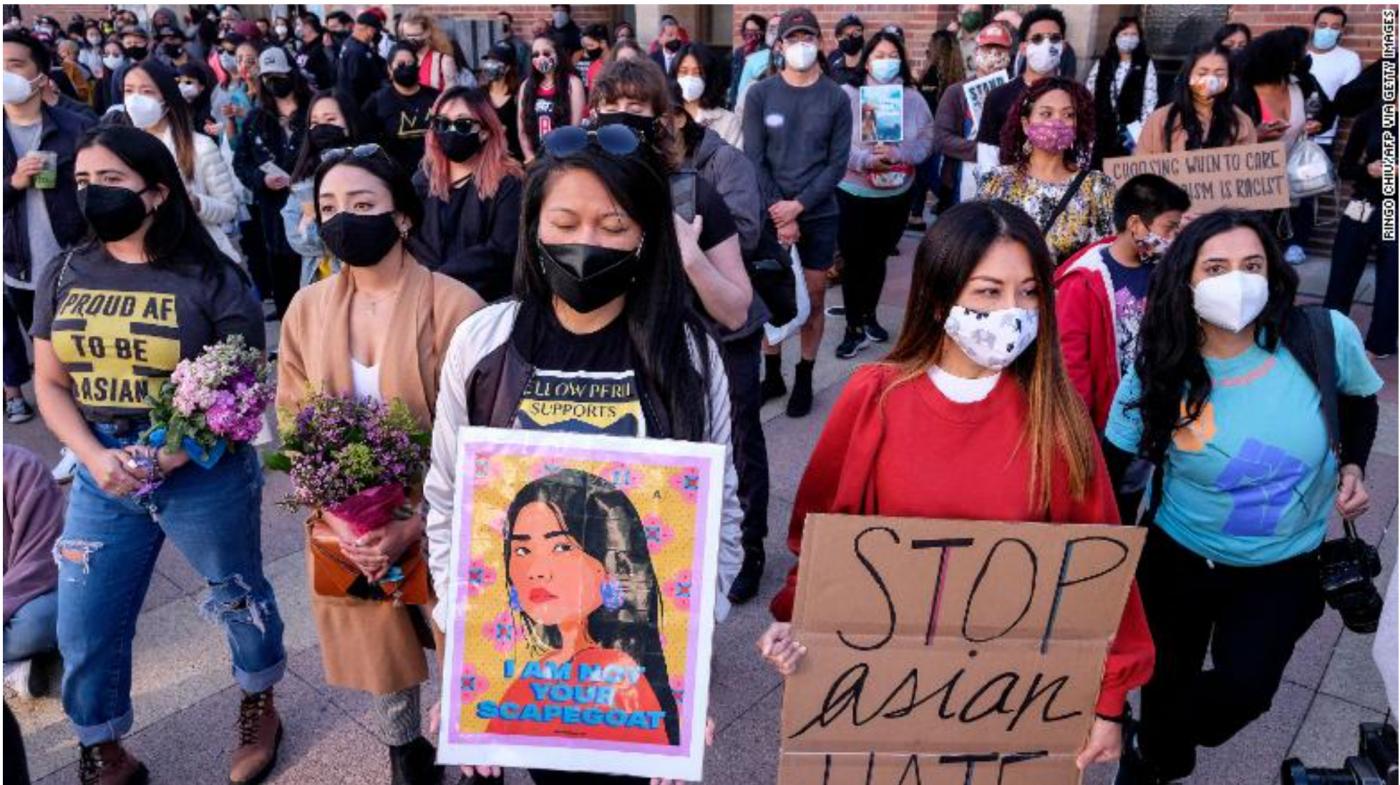 坚决反对美国歧视亚裔的可耻行为!_图1-1