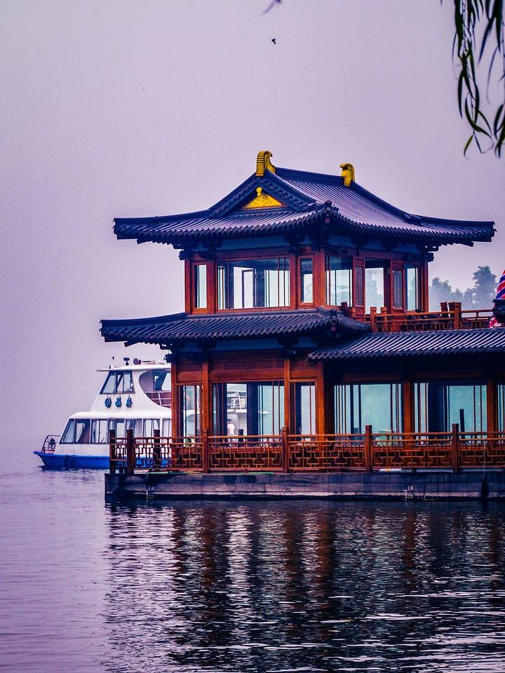 杭州西湖,宝塔小桥楼亭_图1-7