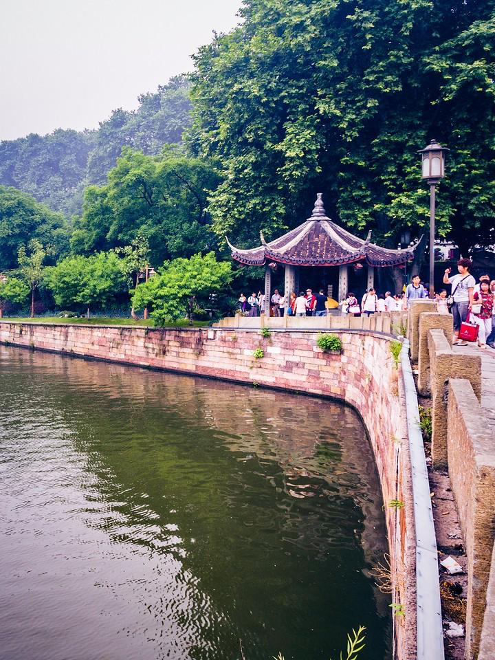 杭州西湖,宝塔小桥楼亭_图1-11