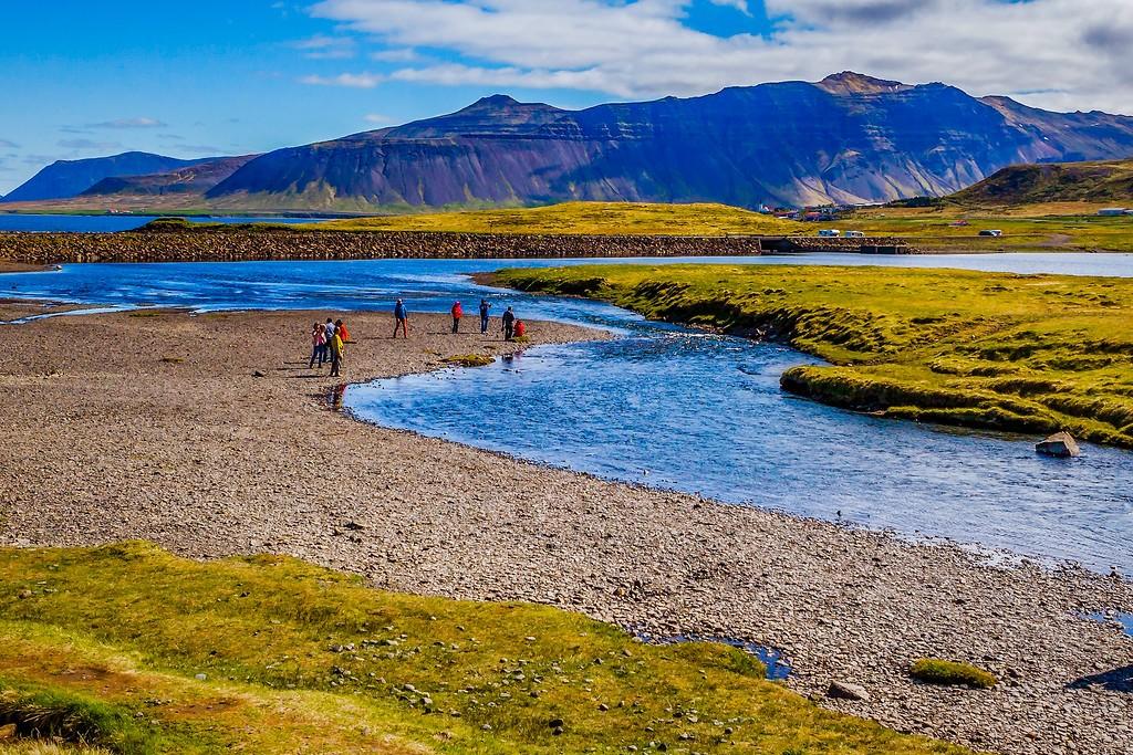 冰岛Kirkjufellsfoss,小瀑布小溪水_图1-8