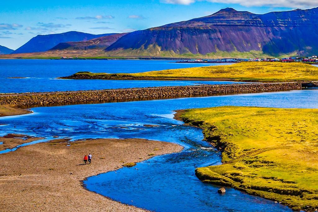 冰岛Kirkjufellsfoss,小瀑布小溪水_图1-6