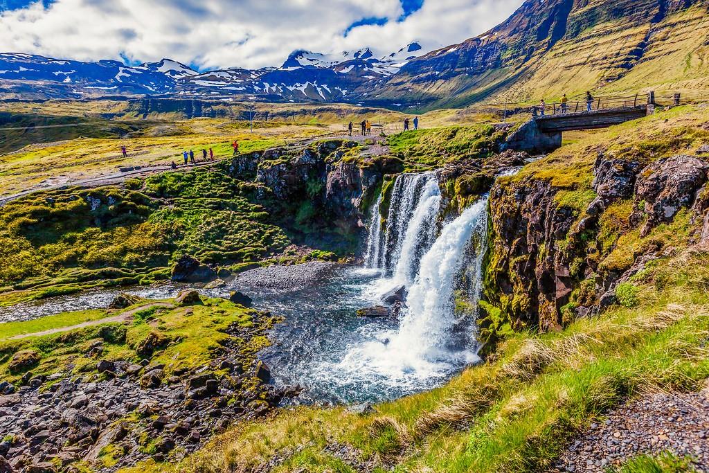 冰岛,小瀑布小溪水