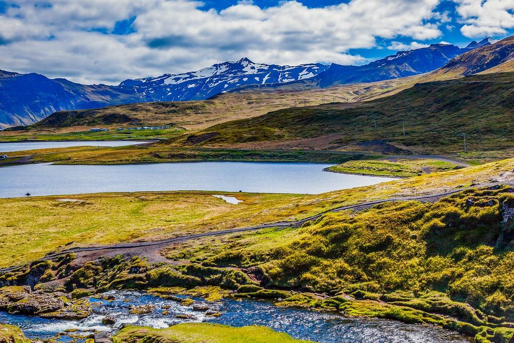 冰岛Kirkjufellsfoss,小瀑布小溪水_图1-9