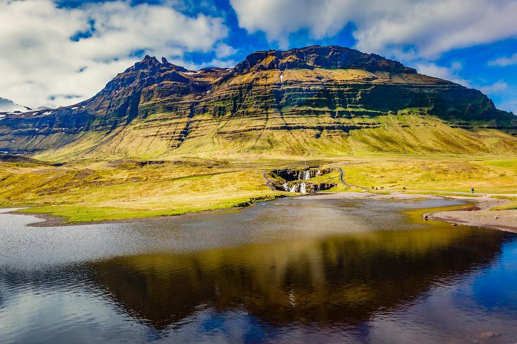 冰岛Kirkjufellsfoss,小瀑布小溪水_图1-13