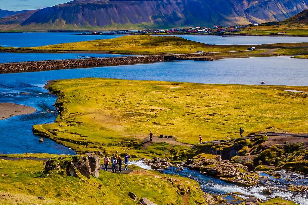 冰岛Kirkjufellsfoss,小瀑布小溪水_图1-15