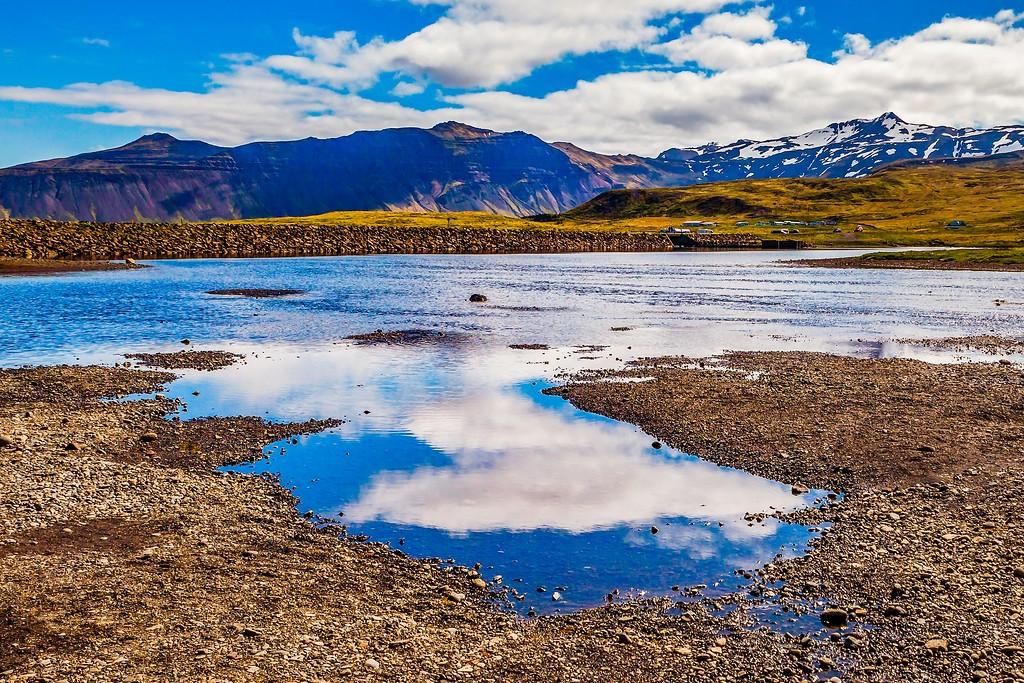 冰岛Kirkjufellsfoss,小瀑布小溪水_图1-14