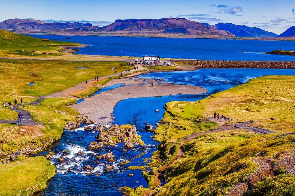 冰岛Kirkjufellsfoss,小瀑布小溪水_图1-19