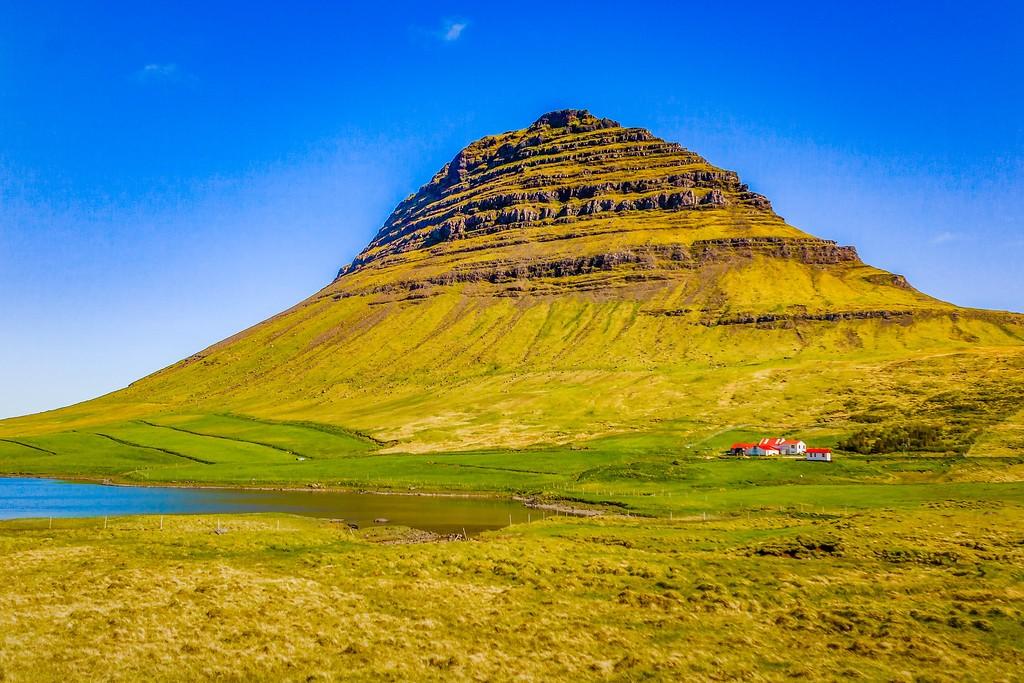 冰岛Kirkjufellsfoss,小瀑布小溪水_图1-20