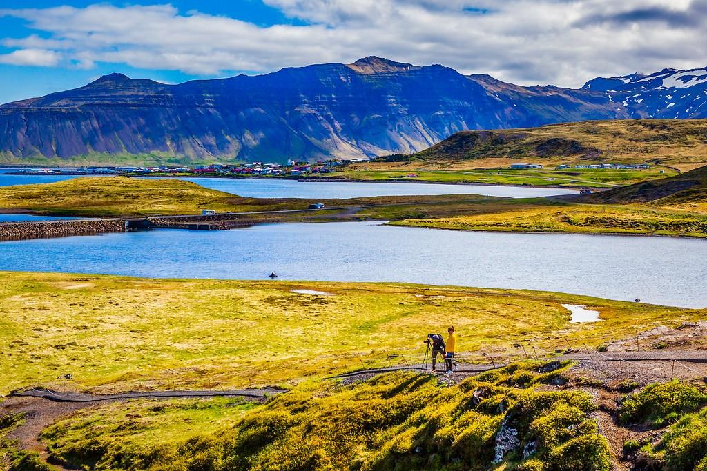 冰岛Kirkjufellsfoss,小瀑布小溪水_图1-16