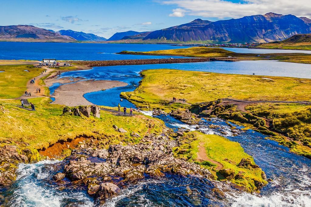 冰岛Kirkjufellsfoss,小瀑布小溪水_图1-22